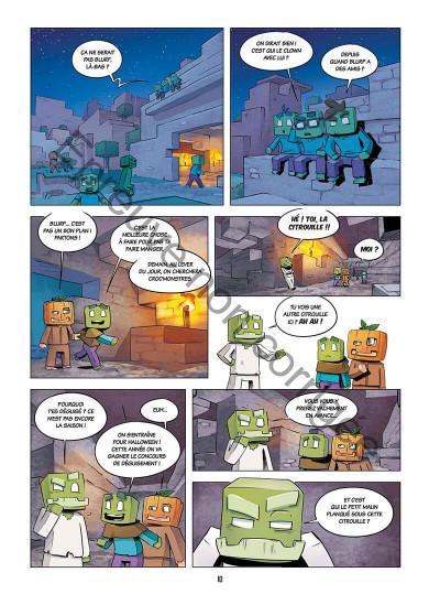 Page 0 Le journal d'un noob tome 2