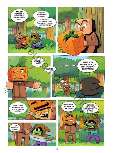 Page 8 Le journal d'un noob tome 2
