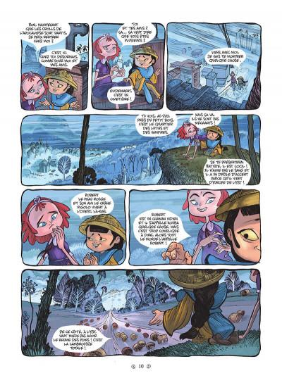 Page 0 Yana et le tombeau de pierre lune