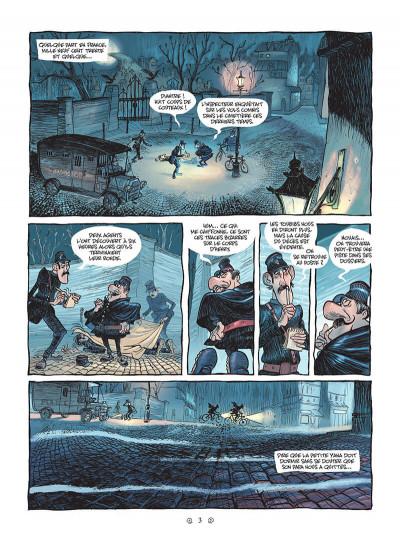 Page 3 Yana et le tombeau de pierre lune