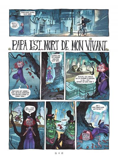 Page 4 Yana et le tombeau de pierre lune