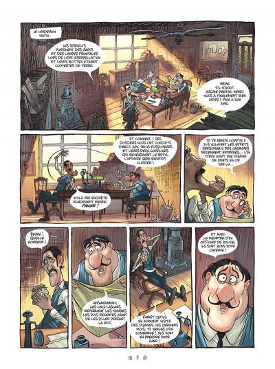 Page 5 Yana et le tombeau de pierre lune