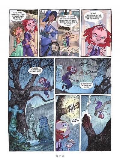 Page 7 Yana et le tombeau de pierre lune