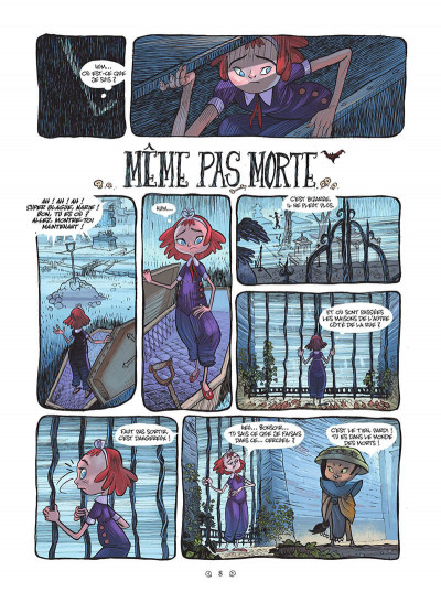 Page 8 Yana et le tombeau de pierre lune