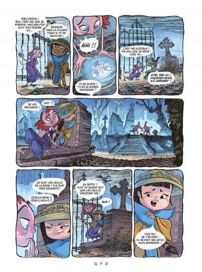 Page 9 Yana et le tombeau de pierre lune