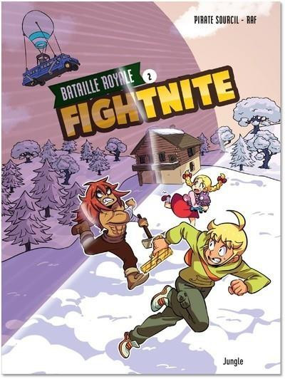 Couverture Fightnite bataille royale tome 2