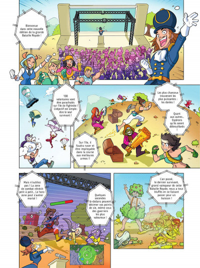 Page 3 Fightnite bataille royale tome 2