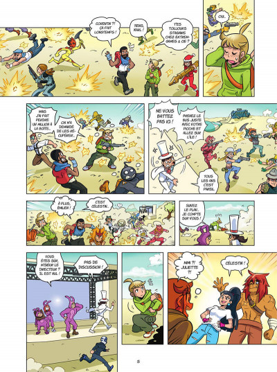 Page 5 Fightnite bataille royale tome 2