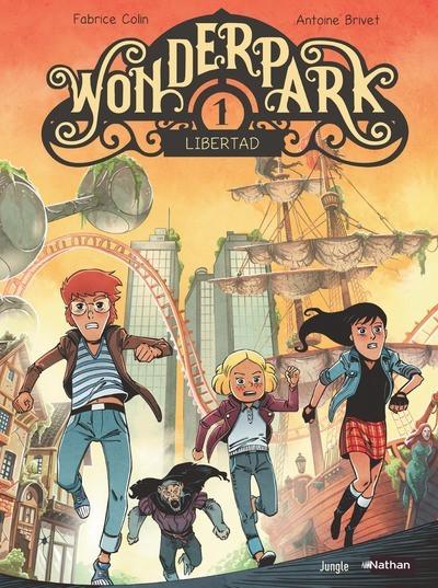 Couverture Wonderpark tome 1