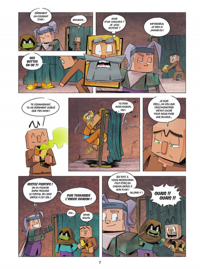 Page 7 Le journal d'un noob tome 3