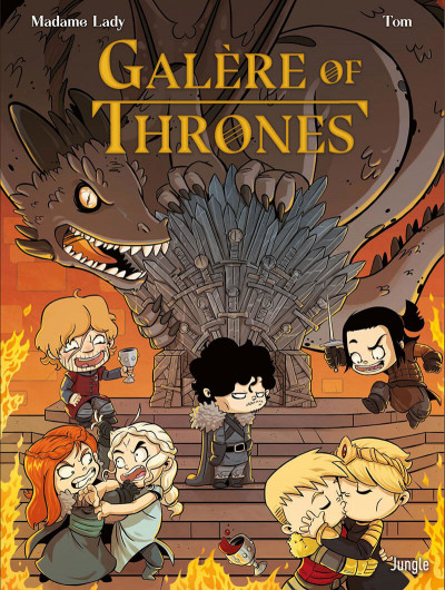 Couverture Galère of thrones
