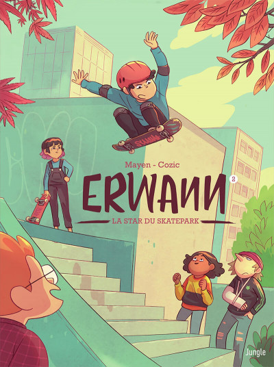 Couverture Erwann tome 2