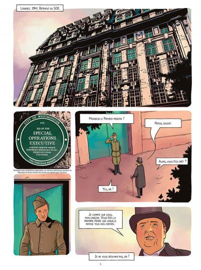 Page 5 Le réseau papillon tome 4