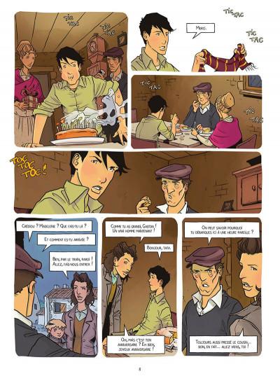 Page 8 Le réseau papillon tome 4