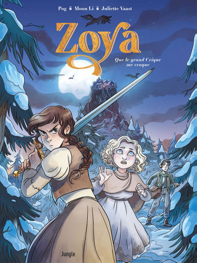 Couverture Zoya tome 1