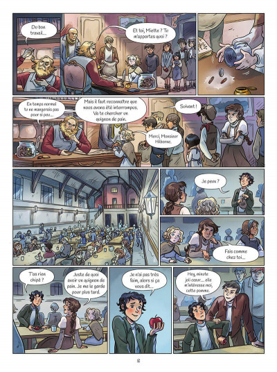 Page 8 Zoya tome 1