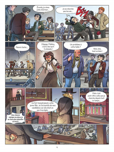 Page 9 Zoya tome 1
