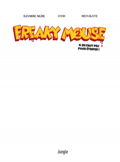 Page 1 Freaky Mouse tome 2