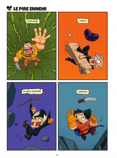 Page 6 Freaky Mouse tome 2