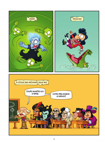Page 7 Freaky Mouse tome 2