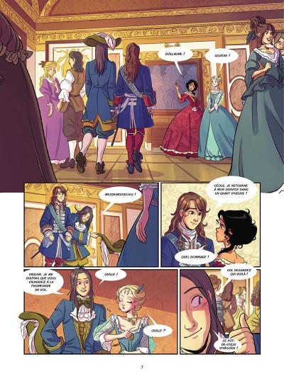 Page 3 Complots à Versailles tome 2