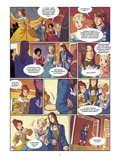 Page 4 Complots à Versailles tome 2