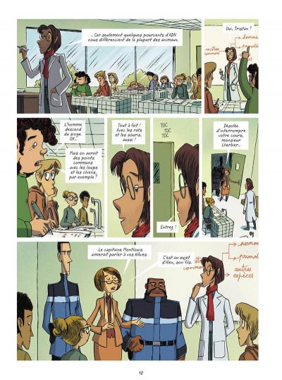 Page 0 La brigade des cauchemars tome 4 - Mélissandre