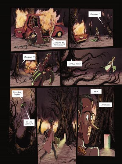 Page 5 La brigade des cauchemars tome 4 - Mélissandre