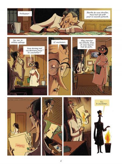 Page 6 La brigade des cauchemars tome 4 - Mélissandre