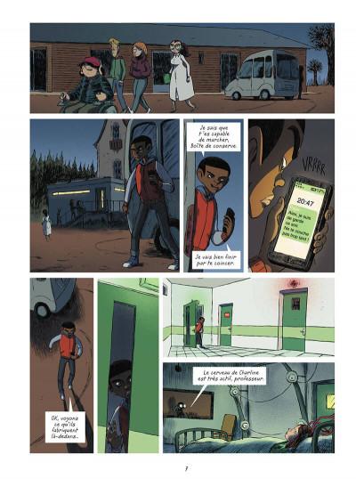 Page 7 La brigade des cauchemars tome 4 - Mélissandre