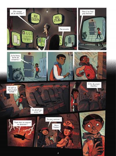Page 8 La brigade des cauchemars tome 4 - Mélissandre