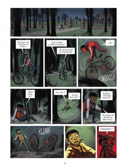 Page 9 La brigade des cauchemars tome 4 - Mélissandre