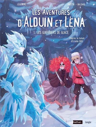 Couverture Les aventures d'Alduin et Léna tome 1