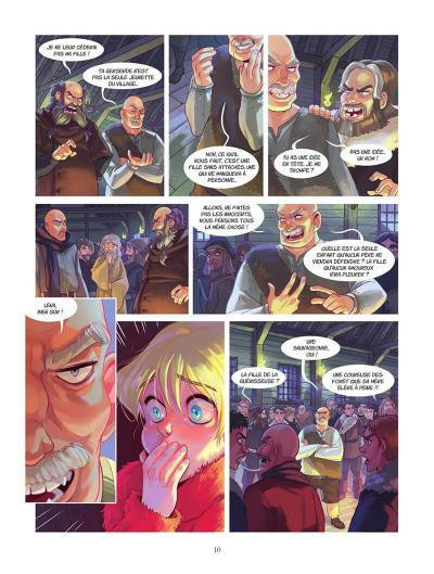 Page 0 Les aventures d'Alduin et Léna tome 1