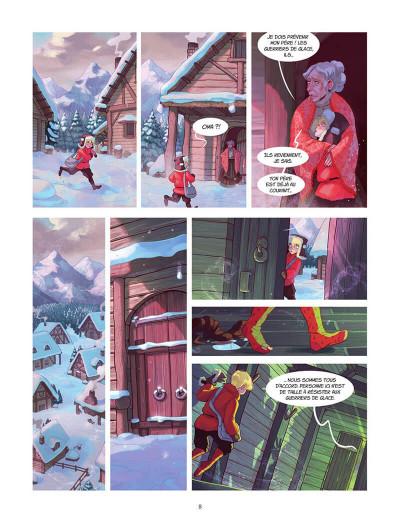 Page 8 Les aventures d'Alduin et Léna tome 1