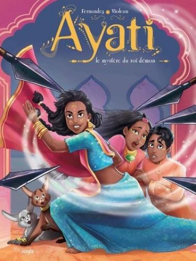 Couverture Ayati tome 3