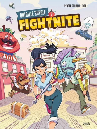 Couverture Fightnite tome 3