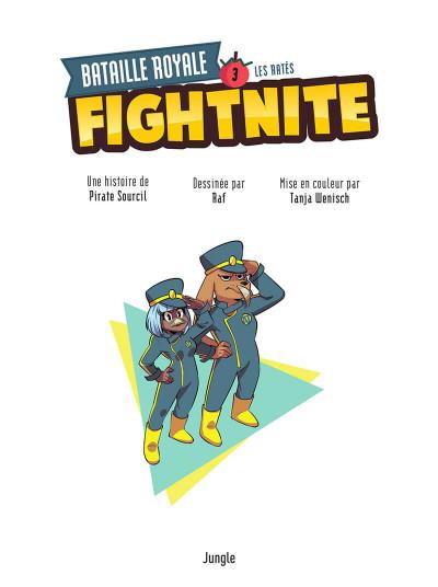 Page 1 Fightnite tome 3