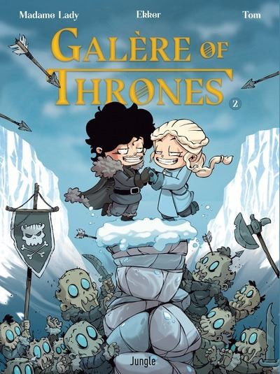 Couverture Galère of thrones tome 2
