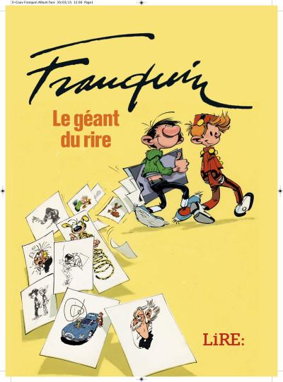 Couverture Franquin, le géant du rire