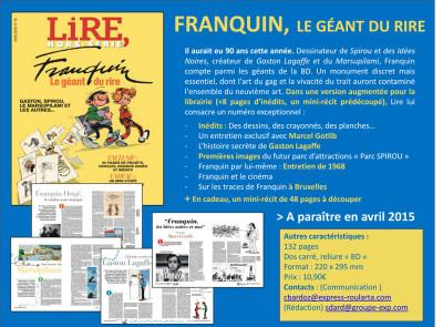 Page 1 Franquin, le géant du rire