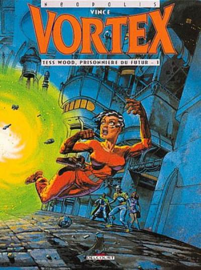 image de vortex - tess wood prisonniere du futur tome 1