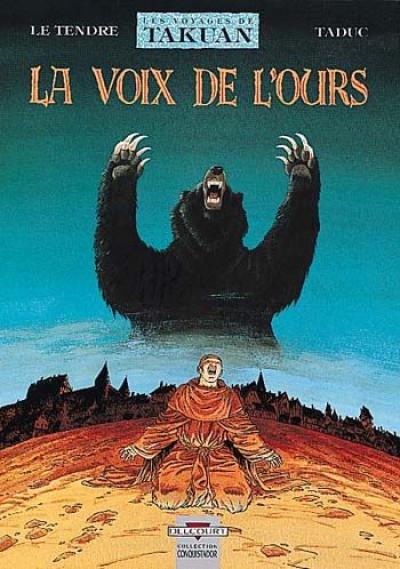 image de les voyages de takuan tome 3 - la voix de l'ours