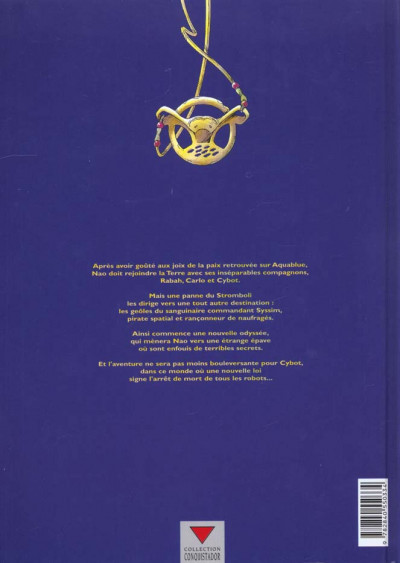 Dos aquablue tome 6 - étoile blanche première partie