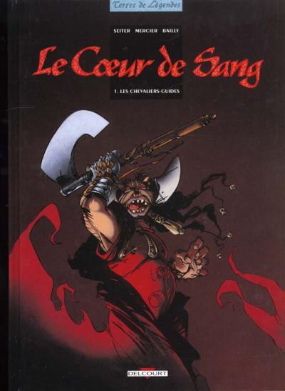 Couverture Le coeur de sang tome 1 - les chevaliers-guides