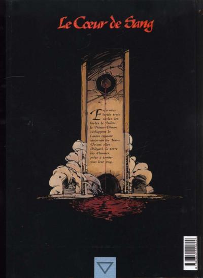 Dos Le coeur de sang tome 1 - les chevaliers-guides
