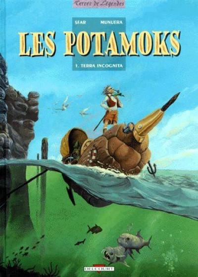 image de les potamoks tome 1 - terra incognita