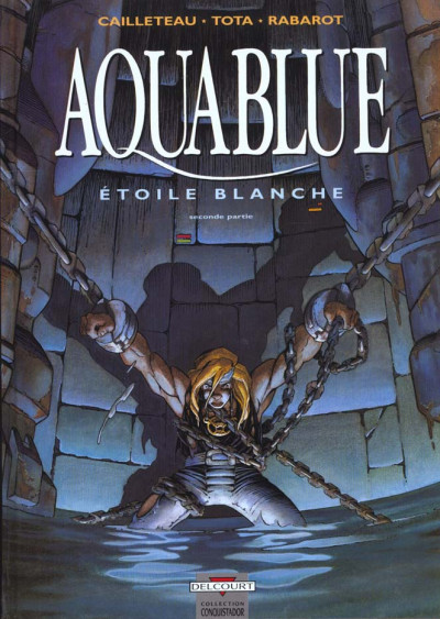 Couverture aquablue tome 7 - étoile blanche seconde partie