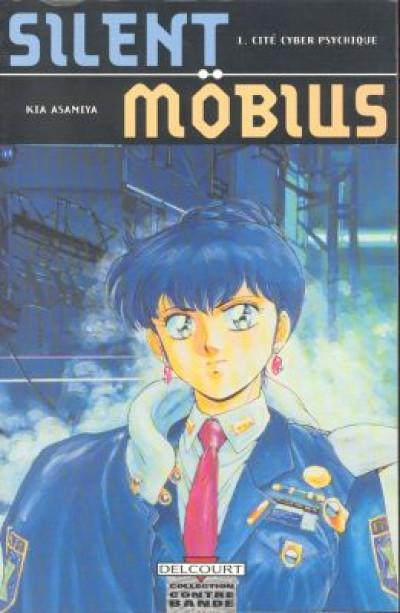 Couverture Silent mobius tome 1 - cité cyber-psychique