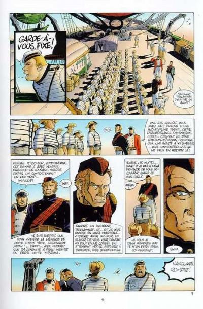 Page 1 Edward John Trelawnay tome 1 - le voyage de starkos